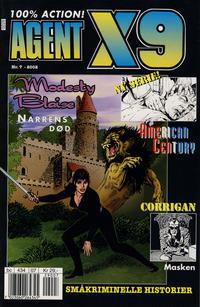 Cover Thumbnail for Agent X9 (Hjemmet / Egmont, 1998 series) #7/2002