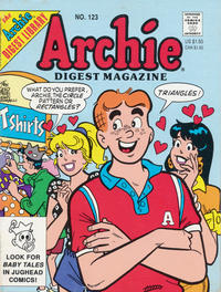 Cover Thumbnail for Archie Comics Digest (Archie, 1973 series) #123 [Direct]