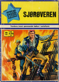 Cover Thumbnail for Stjerneklassiker (Illustrerte Klassikere / Williams Forlag, 1969 series) #13 - Sjørøveren
