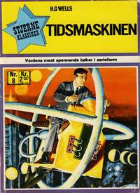 Cover Thumbnail for Stjerneklassiker (Illustrerte Klassikere / Williams Forlag, 1969 series) #8 - Tidsmaskinen