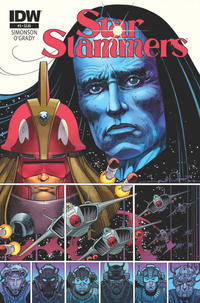 Cover Thumbnail for Star Slammers (IDW, 2014 series) #3 [Regular Cover]