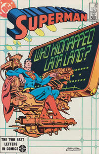 Cover Thumbnail for Superman (DC, 1939 series) #391 [Direct]