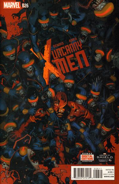 Cover for Uncanny X-Men (Marvel, 2013 series) #26