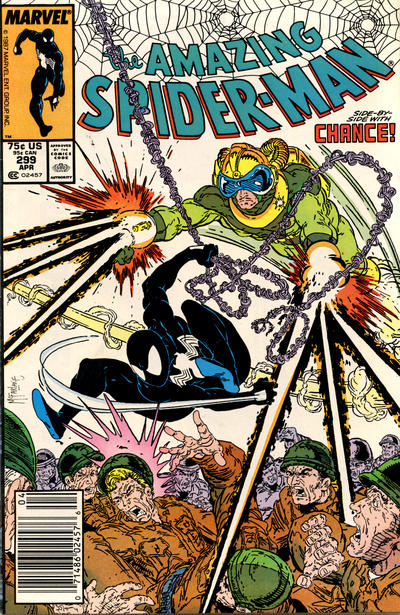 Cover for The Amazing Spider-Man (Marvel, 1963 series) #299 [Direct]
