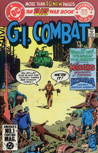 Cover for G.I. Combat (DC, 1957 series) #272 [Direct Sales]