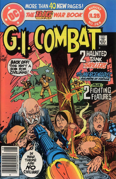 Cover for G.I. Combat (DC, 1957 series) #268 [direct-sales]