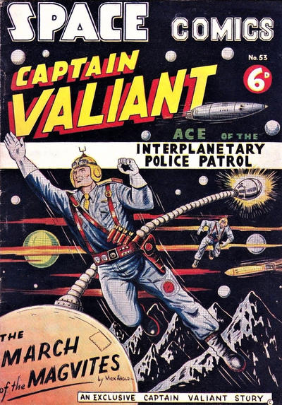Cover for Space Comics (Arnold Book Company, 1953 series) #53