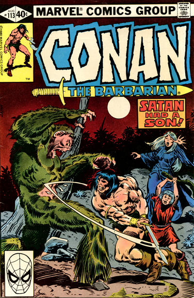 Cover for Conan the Barbarian (Marvel, 1970 series) #113 [Direct Edition]