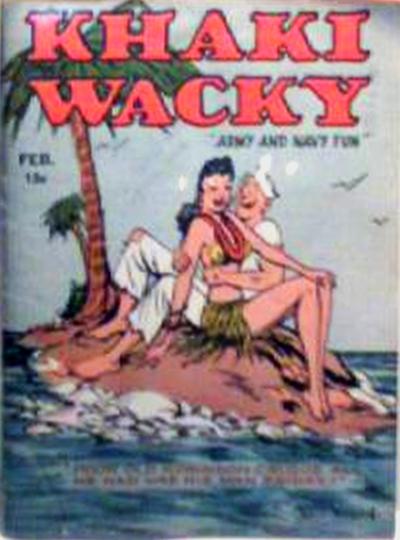 Cover for Khaki Wacky (Hardie-Kelly, 1941 series) #2