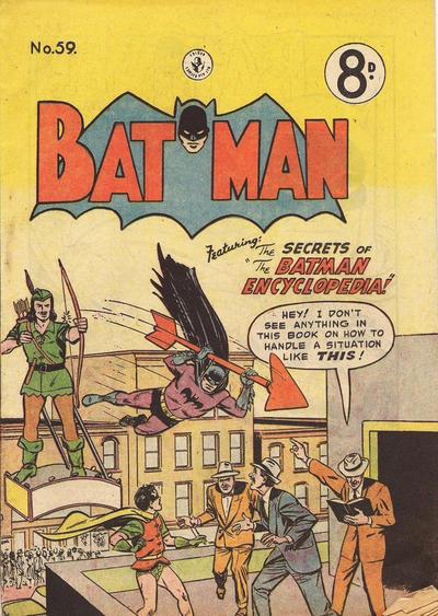 Cover for Batman (K. G. Murray, 1950 series) #59