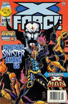 Cover for X-Force (Marvel, 1991 series) #57 [Newsstand]