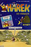 Cover for Hårek (Semic, 1986 series) #7/1987
