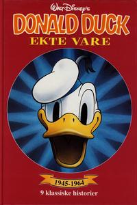 Cover Thumbnail for Donald Duck bøker [Gullbøker] (Hjemmet / Egmont, 1984 series) #[1998] - Ekte vare