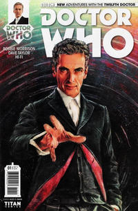 Cover Thumbnail for Doctor Who: The Twelfth Doctor (Titan, 2014 series) #1 [Cover A - Alice X. Zhang]