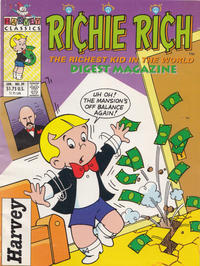 Cover Thumbnail for Richie Rich Digest Magazine (Harvey, 1986 series) #39 [Direct]