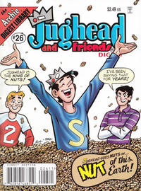 Cover Thumbnail for Jughead & Friends Digest Magazine (Archie, 2005 series) #26 [Direct]