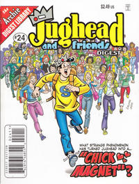 Cover Thumbnail for Jughead & Friends Digest Magazine (Archie, 2005 series) #24 [Direct Edition]