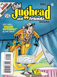 Cover Thumbnail for Jughead & Friends Digest Magazine (Archie, 2005 series) #22 [Direct]