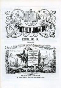 Cover Thumbnail for Brother Jonathan Extra (Wilson and Company, 1841 series) #v2#9