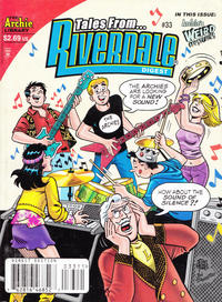 Cover Thumbnail for Tales from Riverdale Digest (Archie, 2005 series) #33 [Direct Edition]