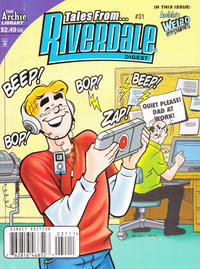 Cover Thumbnail for Tales from Riverdale Digest (Archie, 2005 series) #31 [Direct]
