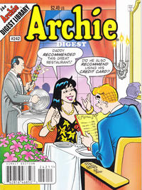 Cover Thumbnail for Archie Comics Digest (Archie, 1973 series) #242 [Direct Edition]