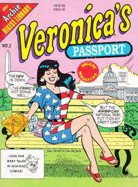 Cover Thumbnail for Veronica's Passport Digest Magazine (Archie, 1992 series) #2 [Direct]