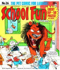 Cover Thumbnail for School Fun (IPC, 1983 series) #26