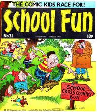 Cover Thumbnail for School Fun (IPC, 1983 series) #21