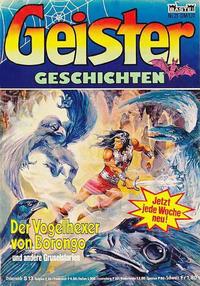 Cover Thumbnail for Geister Geschichten (Bastei Verlag, 1980 series) #21