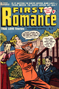 Cover Thumbnail for First Romance (Magazine Management, 1952 series) #17