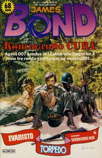 Cover Thumbnail for James Bond (Semic, 1979 series) #3/1989