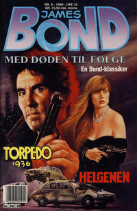 Cover Thumbnail for James Bond (Semic, 1979 series) #8/1990
