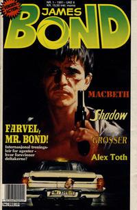 Cover Thumbnail for James Bond (Semic, 1979 series) #1/1991