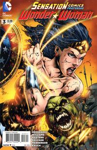 Cover Thumbnail for Sensation Comics Featuring Wonder Woman (DC, 2014 series) #3