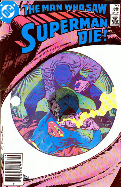 Cover for Superman (DC, 1939 series) #399 [Direct Sales Edition]
