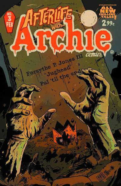 Cover for Afterlife with Archie (Archie, 2013 series) #3 [Second Printing]