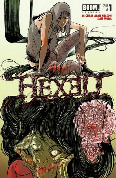 Cover for Hexed (Boom! Studios, 2014 series) #1 [Cards, Comics and Collectibles Exclusive Variant - Alice X. Zhang]