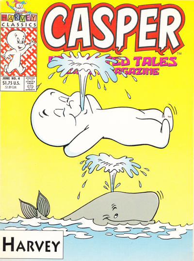 Cover for Casper Enchanted Tales Digest (Harvey, 1992 series) #4