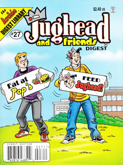 Cover for Jughead & Friends Digest Magazine (Archie, 2005 series) #27 [Direct]