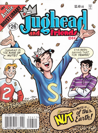 Cover for Jughead & Friends Digest Magazine (Archie, 2005 series) #26 [Direct]