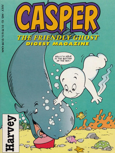 Cover for Casper Digest Magazine (Harvey, 1991 series) #12 [Direct]