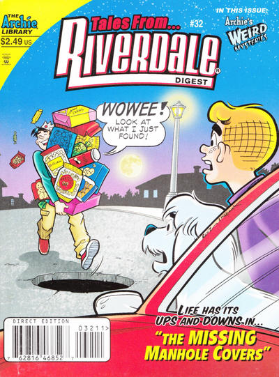 Cover for Tales from Riverdale Digest (Archie, 2005 series) #32 [Direct]