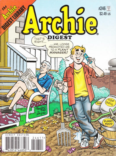 Cover for Archie Comics Digest (Archie, 1973 series) #246 [Direct]