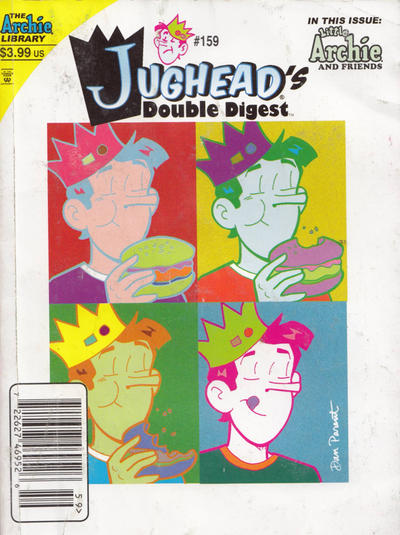 Cover for Jughead's Double Digest (Archie, 1989 series) #159 [Direct Edition]