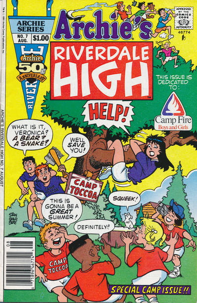 Cover for Archie's Riverdale High (Archie, 1991 series) #7