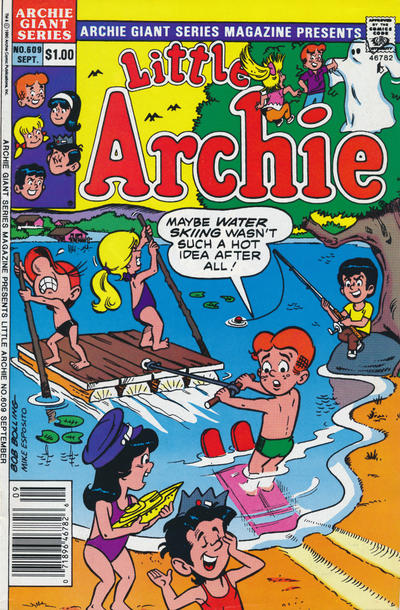 Cover for Archie Giant Series Magazine (Archie, 1954 series) #609 [Direct Edition]