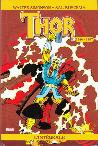 Cover for Thor : l'intégrale (Panini France, 2007 series) #1986-1987