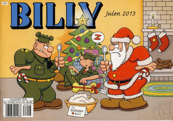 Cover for Billy julehefte (Hjemmet / Egmont, 1970 series) #2013