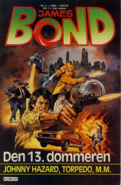Cover for James Bond (Semic, 1979 series) #7/1988